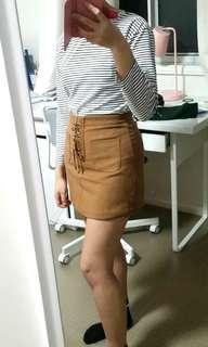 YESSTYLE Brown Skirt