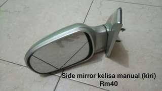 Side mirror kelisa manual (kiri)