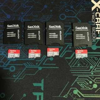 Opened Scandisk Ultra Micro SD Card