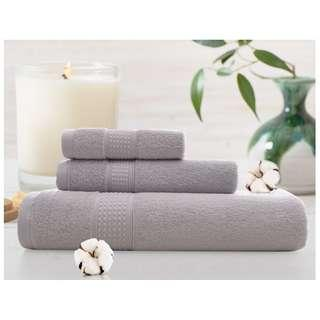 Bath Pure Towels Long Stapled Cotton Beach Spa Thicken Super Absorbent Towel Sets OFFER Limited Time Only