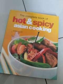 Hot and spicy asian cooking