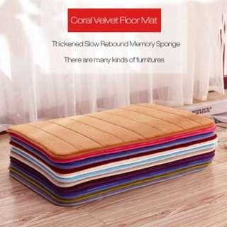 Memory Foam Slow Rising Rug Bathroom Mat Soft Non-slipCarpet