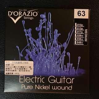 🚚 義大利 D'orazio Pure Nickel Electric Guitar Strings 純鎳電吉他弦