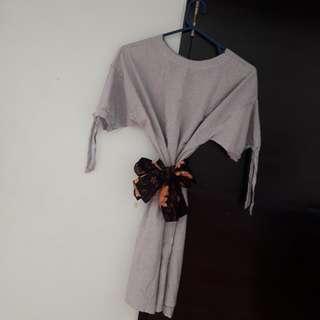 Dress cotton bigsize