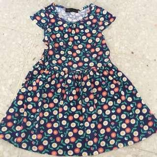Cotton dress seed age 2-3