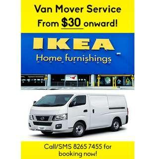 Van mover services