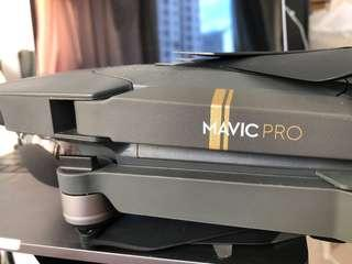Mavic Pro with 2 batteries and controller
