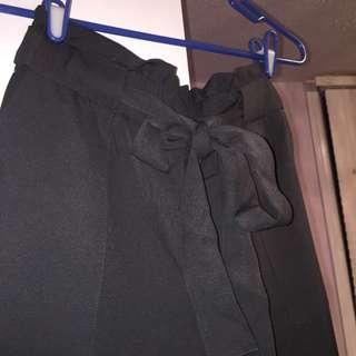 Grey Snug HighWaist pants