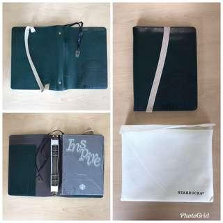 STARBUCKS Limited Edition Leather Notebook / Planner