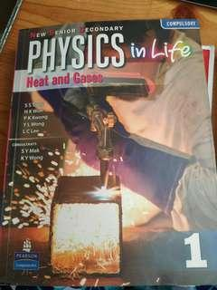 Nss physics in life heatband Gases book one