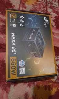 🚚 HEXA 550watts PSU