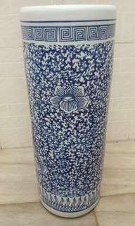 景德鎮青花高身瓷瓶 高58 cm直徑22 cm