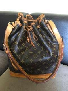 AUTHENTIC LOUIS VUITTON NOE LARGE