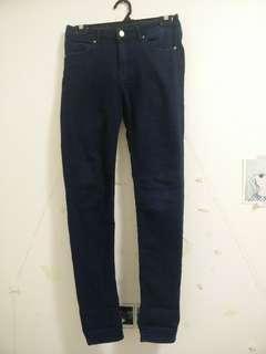 H&M Navy Blue Jeans SIZE 26