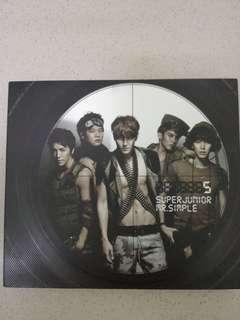 Super Junior 5th Album Mr.Simple
