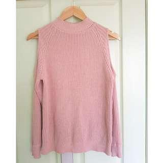 H&M Sweater with Shoulder Cut-outs