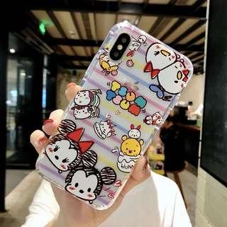 Iphone Xs MAX tsumtsum tpu case with air cushion