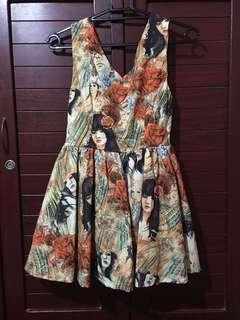 Printed Ladies Dress