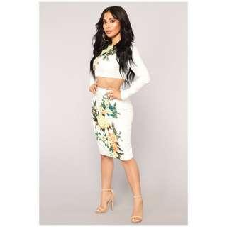 Brand new with tags two piece set