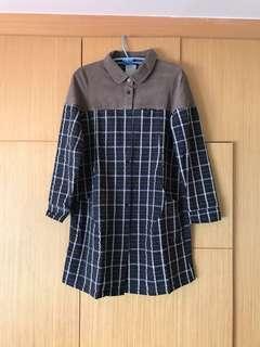 Gozo 格紋襯衫式外套