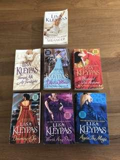 Romance novels by Lisa Kleypas