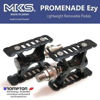 MKS PROMENADE Ezy Pedals (for Bromptons or other foldies)