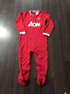 Man U sleepsuit