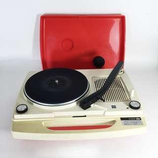 Retro! 70s National Portable Turntable SG-323N