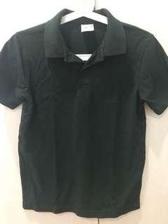 Dark green target polo t size 14