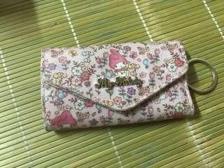 購自日本Sanrio Melody 防水材質鎖匙包