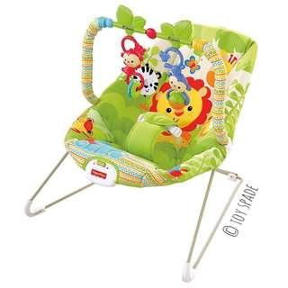 (In-Stock) Fisher-Price Rainforest Friends Bouncer, US-Exclusive Design (Brand New)