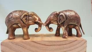 Brass Antique Elephant