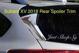 Subaru XV 2018 Rear Spoiler Trim