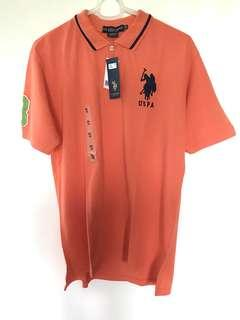 US Polo Association Polo shirt orange