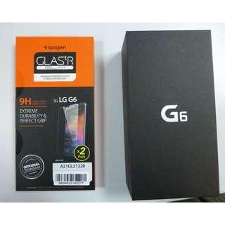 LG G6 64GB Platinum LGH870DS (Hi-Fi Quad DAC version) with freebies