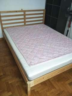 Pre-owned IKEA Beds, Mattresses & Coffee Table