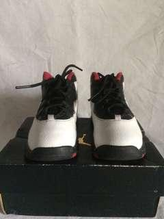 Original Jordan 10 Double Nickel 9c 15cm