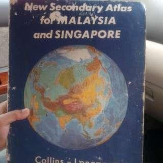 Buku Atlas lama,Collins Longman