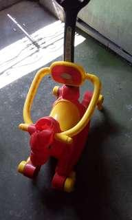 Rocking and Push horse (2-in-1)