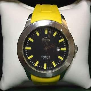 Lacoste Advantage Sports Watch (Good Condition/Bought 5k) *2nd Pic Minor Issue