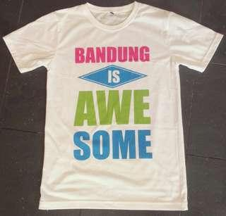 Bandung is awesome white t-shirt