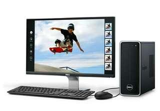 Dell Inspiron 3647 full package plus 2GB Graphic card