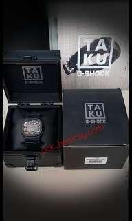 G shock DW5600TAKU LIMITED EDITION(CORDURA STRAP & FLIGHT-CASE)