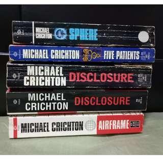 Michael Crichton books