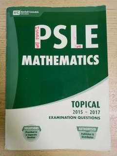 #Blessings: PSLE Mathematics Topical 2015-2017