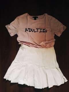 Korean style Tennis Skirt