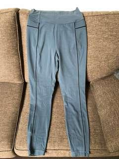 Lululemon blue 7/8 leggings high waisted