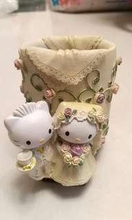 Hello Kitty 簽名 筆筒 婚禮 結婚 Pen Case Holder