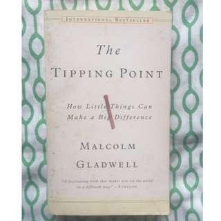(Free Shipping w/in MM) The Tipping Point: How Little Things can make a Big Difference, Malcolm Gladwell, International Bestselling book