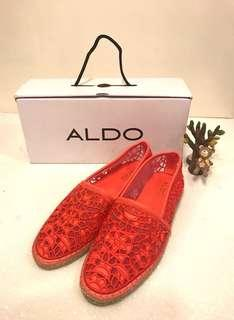 全新ALDO  39號紡織網面鞋